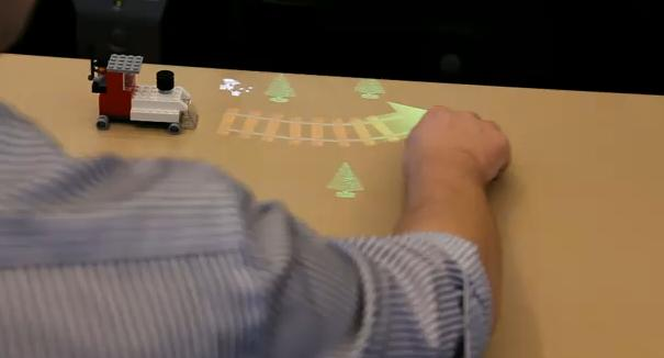 lego Lego 2.0 met augmented reality en 3D camera's