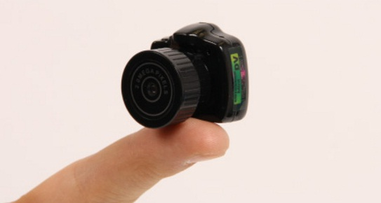 mini camera MAME CAM: extreem kleine camera