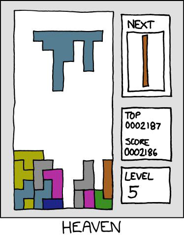 tetris Het ideale Tetris blokje