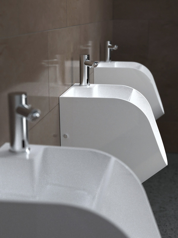 Tandem urinoir en wasbak in één  Freshgadgetsnl # Wasbak Urinoir_160023