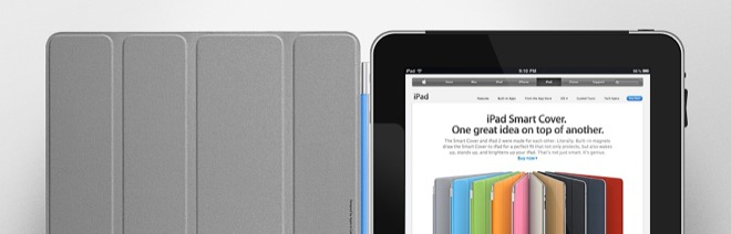 smart cover ipad Smart Cover nu ook voor iPad 1