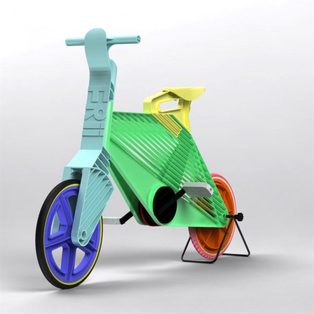 Fiets is gemaakt van gerecycled plastic   Freshgadgets nl