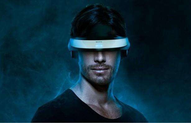HMZ T1 Sonys 3D OLED bril heeft virtueel scherm van 750 inch