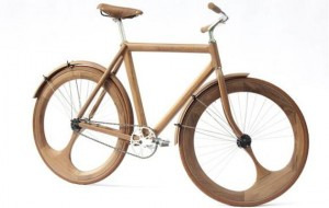 Houten fiets