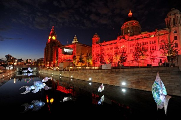 projection mapping liverpool Projection mapping in Liverpool