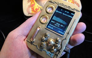 Steampunk MP3-speler