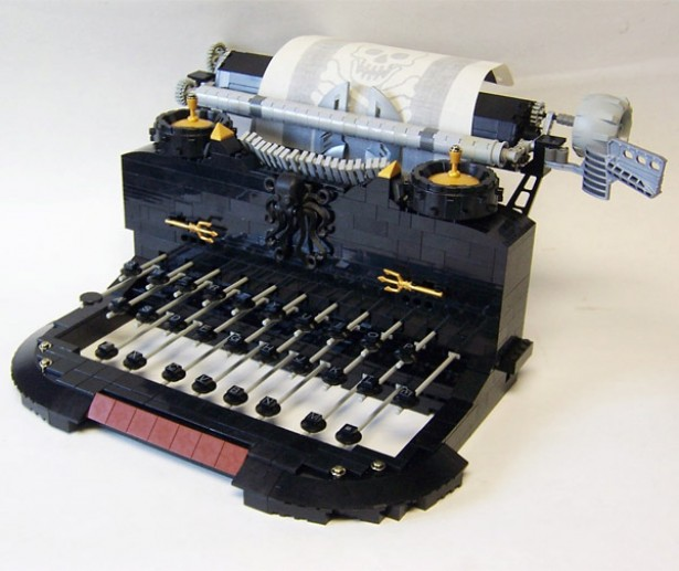 typemachine lego Typemachine van Lego