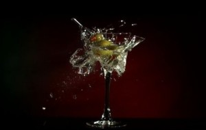 Ontploffende cocktails in super slow-motion