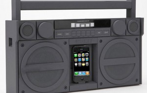 iHome iPhone ghetto blaster