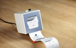 Little Printer drukt mini-krantjes