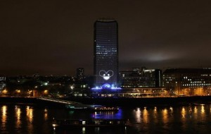 Projection mapping in Londen