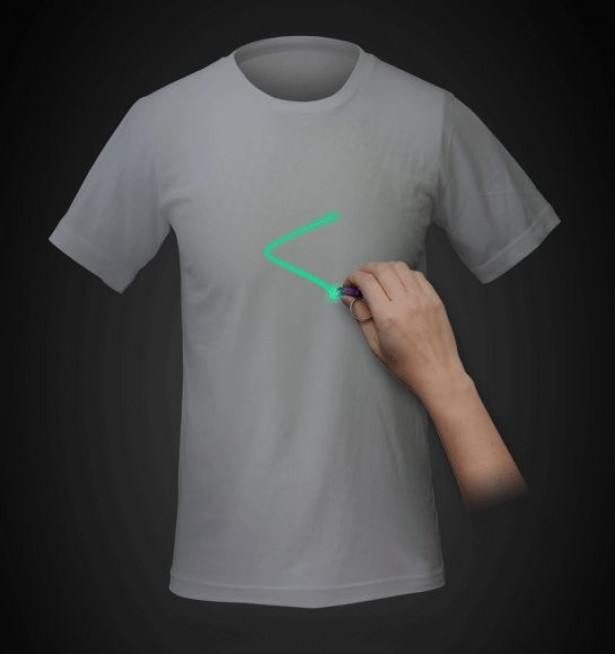 laser tshirt Glow in the dark Lazer t shirt