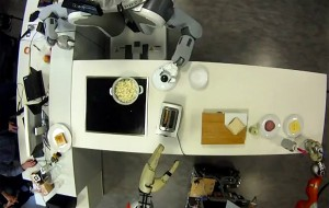 Robots maken popcorn en sandwiches