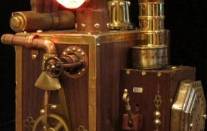 Steampunk harde schijf