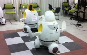 Robots dansen de tango