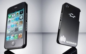 Nissan iPhone-case repareert zichzelf