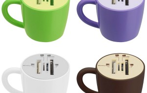 Koffiemok voor memorysticks