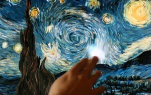 Schilderij van Van Gogh wordt interactief