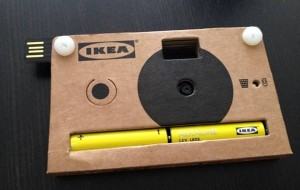 Digitale camera van IKEA