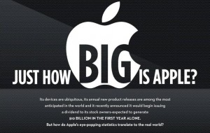 Infographic: hoe groot is Apple?