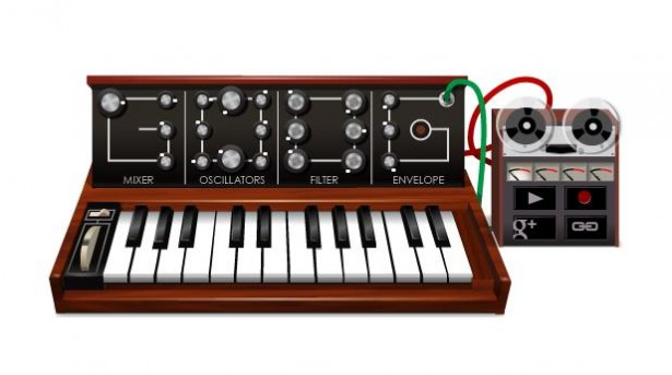 synthesizer google doodle Google Doodle wordt synthesizer