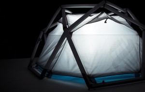 Heimplanet Cave: opblaasbare tent