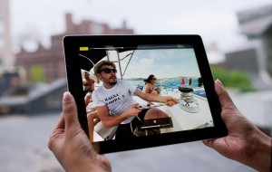 iPad app maakt video's levendig