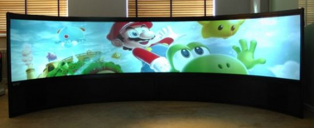 display 160 inch1 Display van 160 inch is ideaal voor gamers
