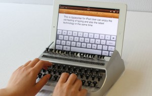 iTypewriter maakt een typemachine van je iPad