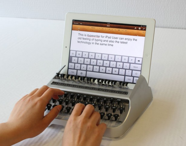 itypewriter iTypewriter maakt een typemachine van je iPad