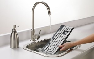 Toetsenbord van Logitech kan tegen water