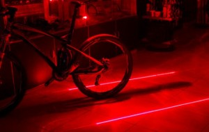 Maak je eigen fietspad met lasers