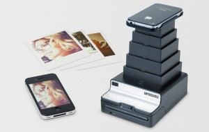 Polaroid-printer voor de iPhone