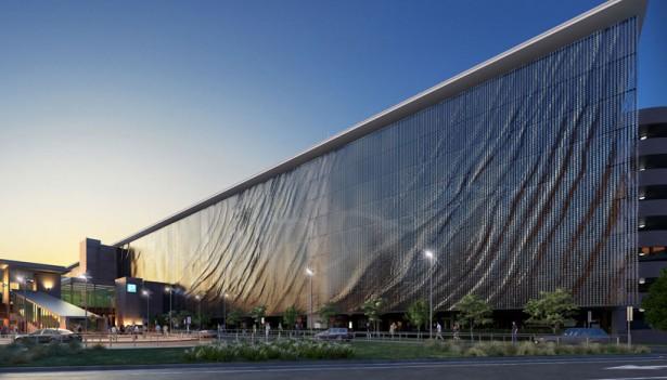 vliegveld kinetisch Kinetische kunst op het vliegveld van Brisbane