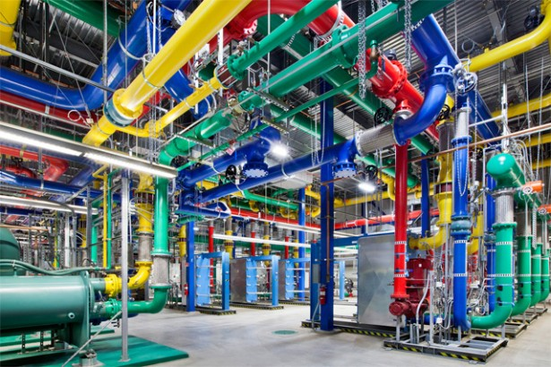 google datacenter Een kijkje in Googles datacenter