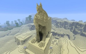 Man bouwt World of Warcraft na in Minecraft