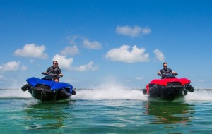 Quadski: combinatie van quad en jetski