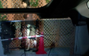 Met een doorzichtige achterbank is inparkeren eenvoudig