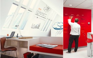 Ideapaint maakt van iedere muur een whiteboard