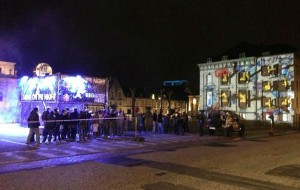 Projection mapping in Gent