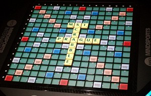 High-tech Scrabble
