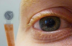 Wetenschappers ontwikkelen contactlens met display