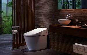 Dit toilet is te bedienen met een smartphone