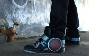 Sneaker Speakers: speakers voor om je schoenen