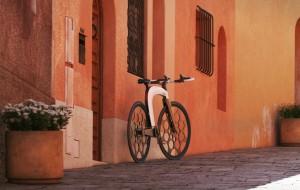 nCycle concept-fiets is van alle gemakken voorzien