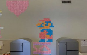 Stop-motion met Post-It notes
