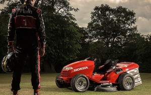 De nieuwste grasmaaier van Honda gaat meer dan 200 km/u