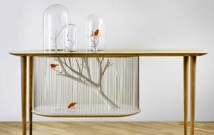 Cage Archibird: tafel en vogelkooi in één