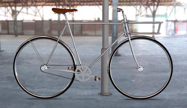 Spiran bicycle de meest stijlvolle fiets van 2013 for Minimalistische fiets