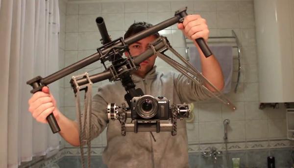 Wonderlijk  deze camera stabilisator tart de wet der zwaartekracht   Freshgadgets nl
